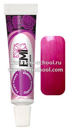 emi черный тюльпан, пурпурное сердце, еми, гель краскиэ