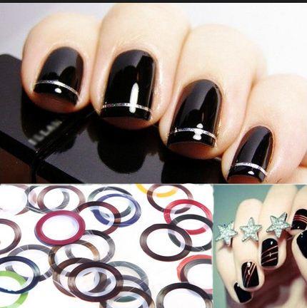 лента для ногтей, пластина для ногтей, ферст, декор ногтей