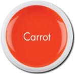 оранжевый гель, Оранжевый гель для лепки, морковный гель, яркие гели, биогель для укрепления ногтей