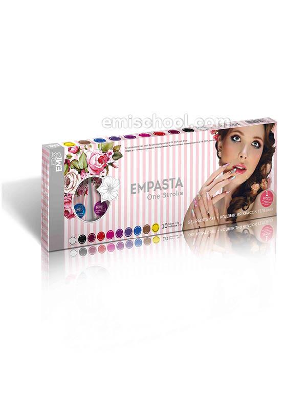 Набор красок гелевых EMPASTA, набор EMPASTA, Набор красок гелевых, Набор красок ЕМИ, еми гель краски, еми краски для дизайна