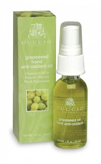 масло для рук, масло на виноградных вытяжках, масло антиоксидант, масло на виноградных косточках