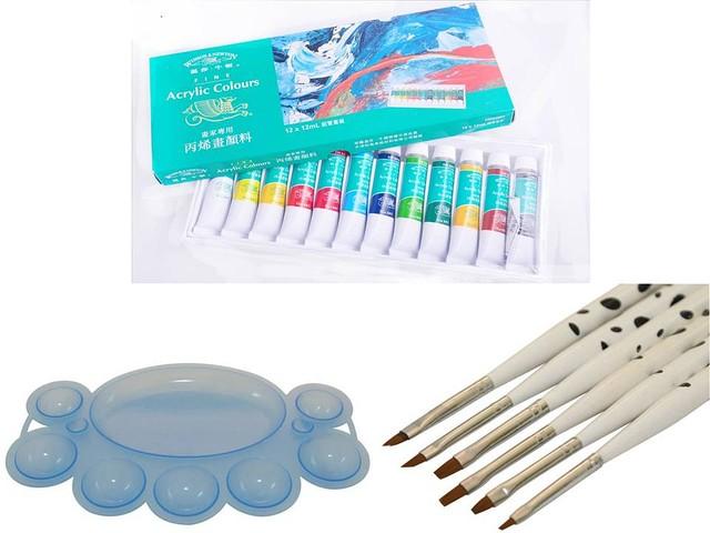 все для дизайна ногтей, кисти для дизайна ногтей, набор кистей, набор кистей для китайской росписи, кисти для китайки