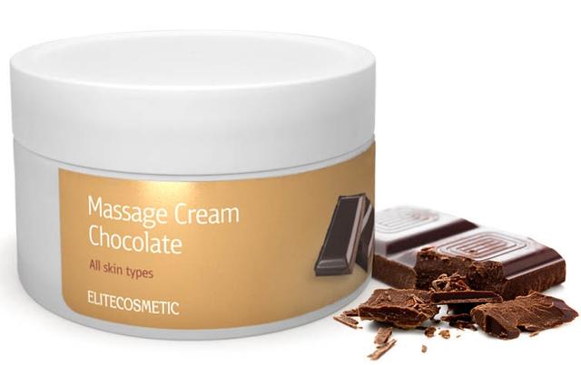 Массажный крем с Шоколадом, Массажный крем, Шоколадный крем для массажа, крем с шоколадом для массажа, Маски для кожи лица